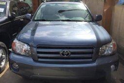 Toyota Highlander Limited V6 4x4 2004 Blue for sale