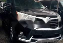 Used black 2015 Toyota Highlander automatic for sale in Lagos