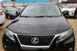 Need to sell high quality 2010 Lexus RX at price ₦7,200,000