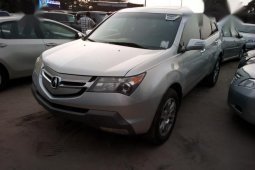 Used grey 2010 Acura MDX for sale at price ₦5,800,000 in Lagos