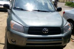 Blue 2006 Toyota RAV4 car at attractive price in Lagos