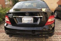 Mercedes-Benz C300 2009 Black for sale