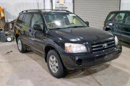 Best priced black 2004 Toyota Highlander suv automatic in Lagos