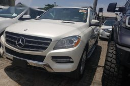 Well maintained 2012 Mercedes-Benz M-Class for sale at price ₦10,500,000 in Lagos