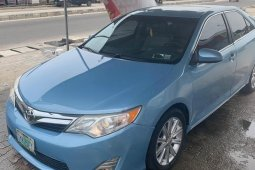 Used blue 2013 Toyota Camry for sale at price ₦3,500,000 in Lagos