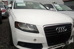 Audi A4 2008 White color for sale