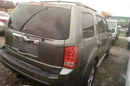 Clean Tokunbo Honda Pilot EX 4dr SUV (3.5L 6cyl 5A) 2010 Gray