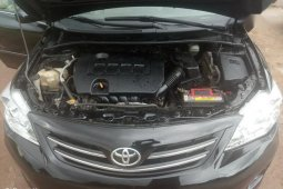 Foreign Used Toyota Corolla 2010 Black
