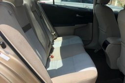Neat Foreign used Toyota Camry 2012 Gold