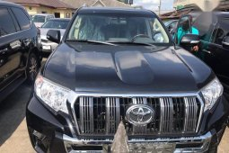 Very Clean Foreign used Toyota Land Cruiser Prado 2018 Limited Black