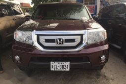 Foreign Used Honda Pilot 2010 EX 4dr SUV (3.5L 6cyl 5A) Red