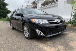 Clean Tokunbo Used Toyota Camry 2013 Black Color