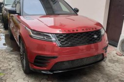 Selling red 2018 Land Rover Range Rover suv / crossover automatic