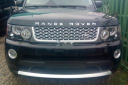 Black 2009 Land Rover Range Rover Sport suv / crossover for sale at price ₦4,400,000 in Lagos