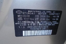 Neat Foreign used Hyundai Elantra Petrol Automatic 2008