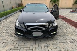 Super Clean Nigerian used Mercedes-Benz E350 2012