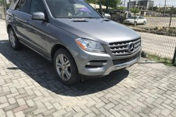 Well Maintained Nigerian used Mercedes-Benz ML350 2013 ₦8,700,000 for sale