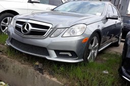 Neat Tokunbo Used Mercedes-Benz E350 2011