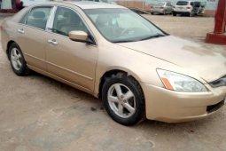 Neat Nigerian Used Honda Accord 2005