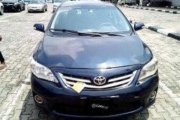 Clean Nigerian Used Toyota Corolla 2009