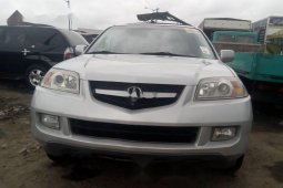 Clean Tokunbo Used Acura MDX 2005
