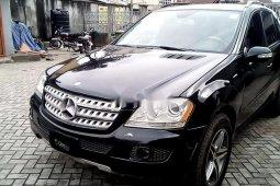 Neat Nigerian used Mercedes-Benz ML350 2007