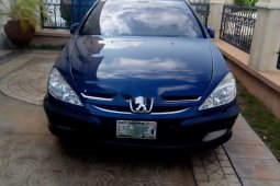 Well Maintained Nigerian used Peugeot 607 2011