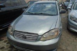 Super Clean Nigerian used 2005 Toyota Corolla