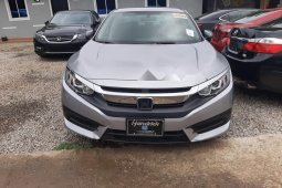 Clean Tokunbo Used Honda Civic 2016 Grey/Silver