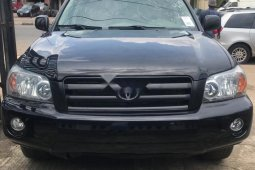 Clean Tokunbo Used Toyota Highlander 2004