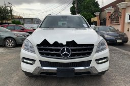 Clean Tokunbo Used Mercedes-Benz ML350 2012 White