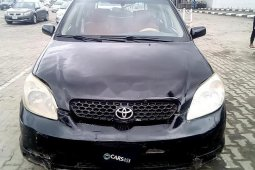 Nigerian Used Toyota Matrix 2003