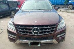 Clean Nigerian Use  Mercedes-Benz ML350 2012