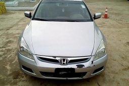 Clean  Nigerian Used  Honda Accord 2006 White