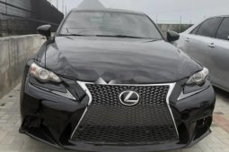 Well Maintained Nigerian used Lexus IS 2014