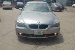 Neat Nigerian Used BMW 530i 2005 Grey/Silver