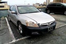 Clean Nigerian Used Honda Accord 2006 Grey/Silver