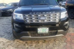Clean Niigerian Used  Ford Explorer 2016 Black