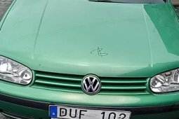 Clean Foreign Used Volkswagen Golf 2003 Green
