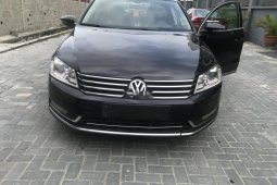 Clean Nigerian Used Volkswagen Passat 2015 Model Black