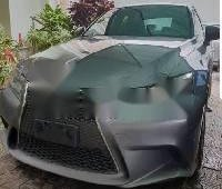 Neat Foreign Used Lexus IS 2014 Model Grey/Silver