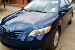 Clean Tokunbo Toyota Camry 2007 Model Blue