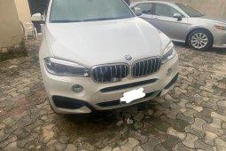 Nigerian Used BMW X6 2016 Model White