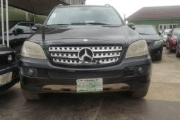 Nigerian Used Mercedes-Benz ML350 2007 Model Black