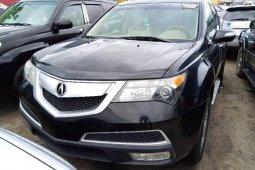 Clean Tokunbo Acura MDX 2010 Model Black