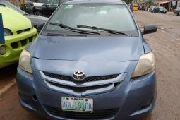Well Maintained Nigerian used Toyota Yaris 2008