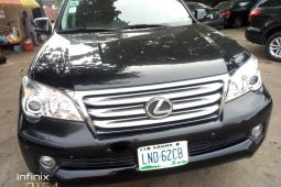 Foreign Used Lexus GX 2011 Model Black