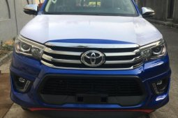 Foreign Used Toyota Hilux 2019 Model Blue