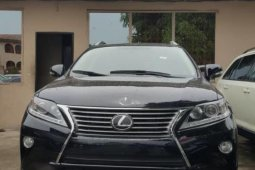 Black Foreign Used Lexus RX 2014 Model