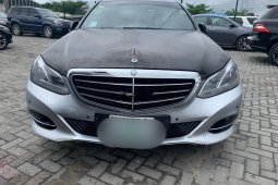 Very Clean Nigerian used Mercedes-Benz E350 2014